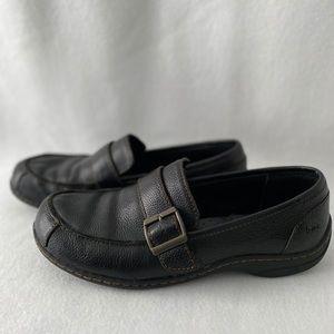 BOC Born Concepts Leather size 8M/W Black Loafers